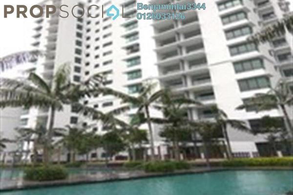 For Rent Serviced Residence at Fortune Perdana Lakeside, Kepong Freehold Semi Furnished 3R/2B 1.8k