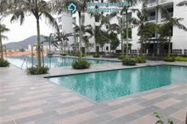 For Sale Serviced Residence at Fortune Perdana Lakeside, Kepong Freehold Semi Furnished 4R/2B 630k