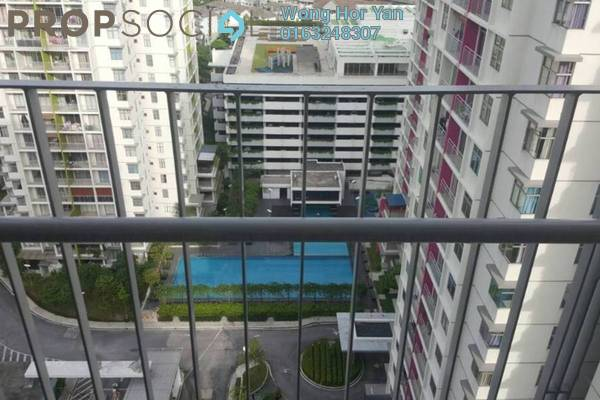 For Rent Condominium at Midfields 2, Sungai Besi Freehold Fully Furnished 3R/2B 1.6k