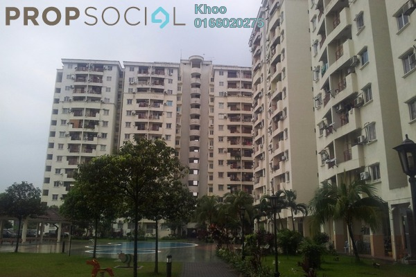 For Sale Condominium at Pandan Court, Pandan Indah Freehold Unfurnished 3R/2B 338k