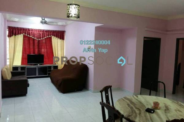 For Rent Condominium at Permai Villa, Puchong Freehold Fully Furnished 3R/2B 1.1k