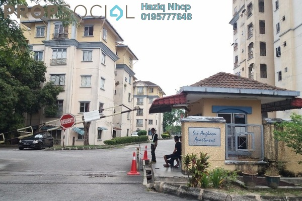 For Sale Apartment at Sri Angkasa Apartment, Shah Alam Freehold Unfurnished 2R/2B 170k