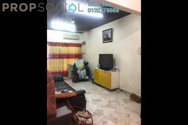 For Sale Terrace at Taman Ehsan Jaya, Johor Bahru Freehold Semi Furnished 3R/2B 538k