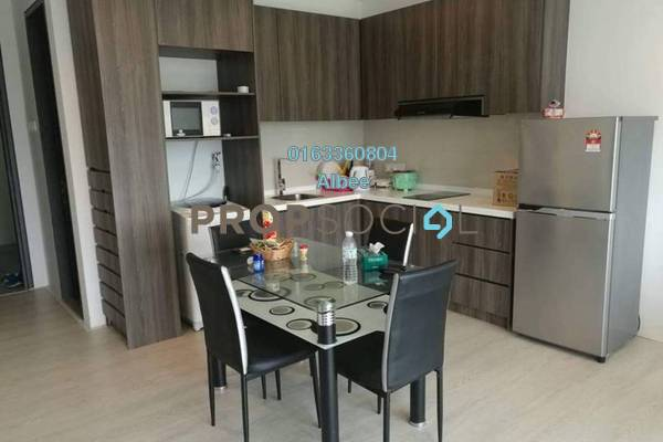 For Rent Condominium at One City, UEP Subang Jaya Freehold Semi Furnished 1R/1B 1.25k