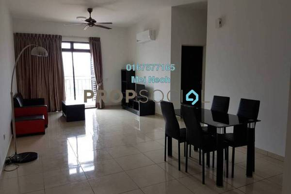 For Rent Condominium at Sky Breeze, Bukit Indah Freehold Fully Furnished 3R/2B 2.5k