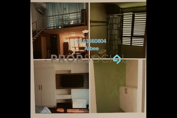 For Rent Condominium at Subang SoHo, Subang Jaya Freehold Fully Furnished 1R/1B 1.75k