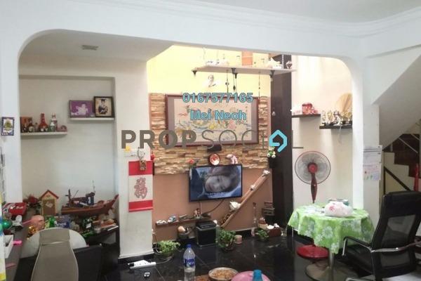 For Sale Terrace at Taman Puteri Wangsa, Ulu Tiram Freehold Semi Furnished 4R/3B 438k