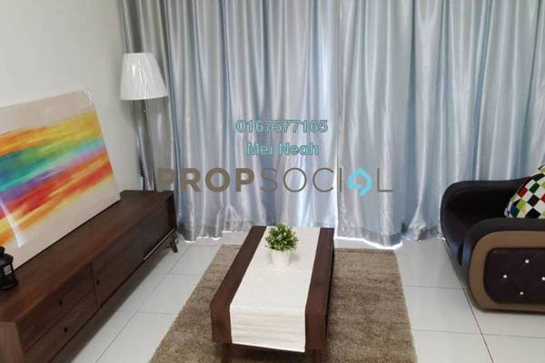 For Rent Apartment at Sky Garden Residences, Setia Tropika Freehold Fully Furnished 2R/2B 1.5k