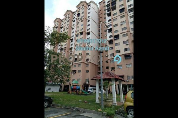 For Sale Apartment at Kasturi Apartment, Bandar Sri Permaisuri Freehold Semi Furnished 3R/0B 200k