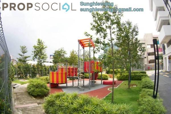 For Rent Condominium at Platinum Lake PV16, Setapak Freehold Semi Furnished 4R/2B 2.1k