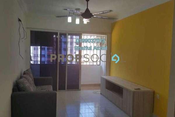 For Sale Apartment at Flora Damansara, Damansara Perdana Freehold Semi Furnished 3R/2B 245k