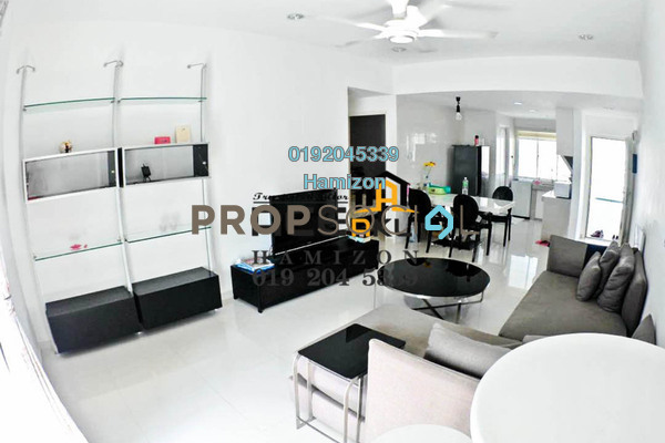 For Sale Condominium at Fawina Court, Ampang Freehold Fully Furnished 2R/2B 365k