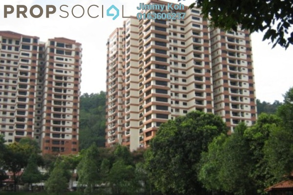 For Rent Condominium at Maxwell Towers, Gasing Heights Freehold Semi Furnished 3R/3B 2.1k