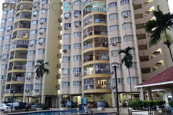 For Sale Apartment at Pandan Utama, Pandan Indah Freehold Semi Furnished 3R/2B 368k