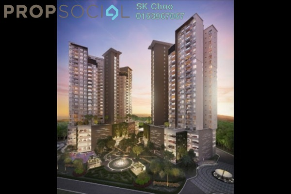 For Sale Condominium at The Vyne, Sungai Besi Freehold Unfurnished 3R/2B 618k