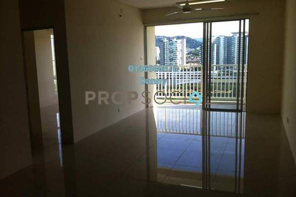 For Rent Condominium at Platinum Lake PV16, Setapak Freehold Semi Furnished 4R/2B 1.8k