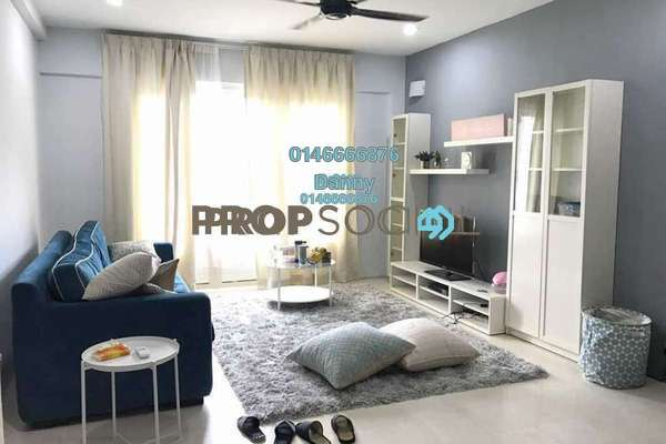 For Rent Condominium at Menara Indah, Ampang Freehold Semi Furnished 2R/2B 1.7k
