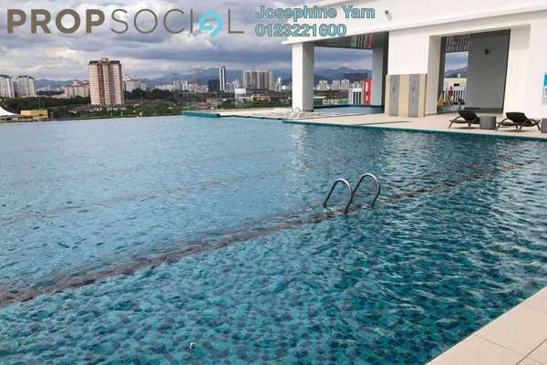 For Rent Condominium at Shamelin Star Serviced Residences, Cheras Freehold Semi Furnished 3R/3B 2.4k
