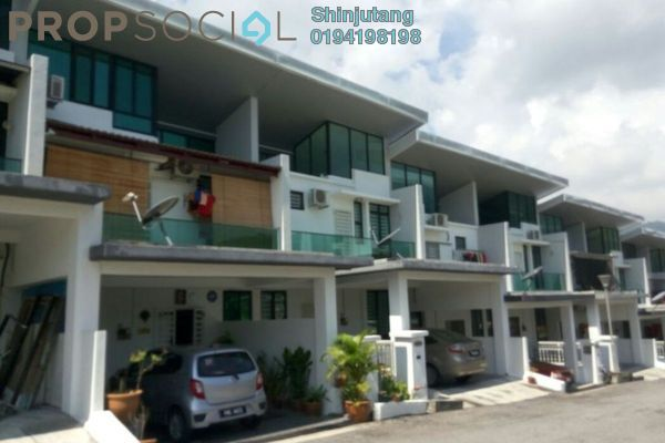 For Sale Terrace at Cascara 88, Teluk Kumbar Freehold Fully Furnished 5R/3B 700k