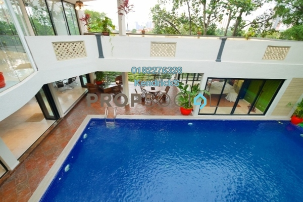 For Sale Bungalow at Bukit Tunku, Kenny Hills Freehold Semi Furnished 7R/8B 15m