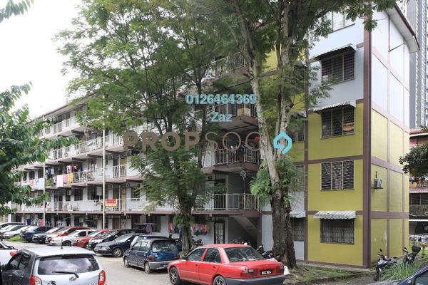 For Sale Apartment at Section 10 Flat, Wangsa Maju Leasehold Semi Furnished 3R/1B 205k