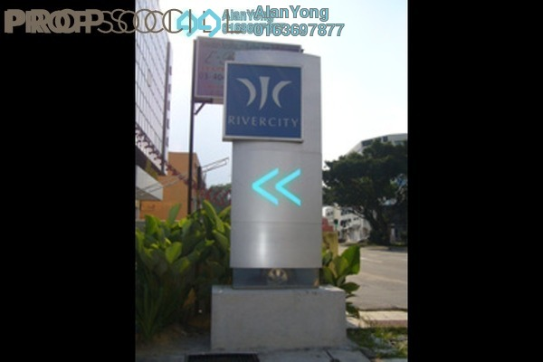 For Rent Condominium at Rivercity, Sentul Freehold Fully Furnished 3R/2B 2.1k