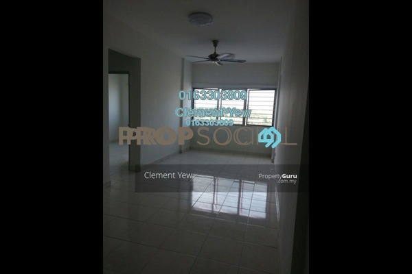For Sale Apartment at Suria Rafflesia, Setia Alam Freehold Unfurnished 3R/2B 260k
