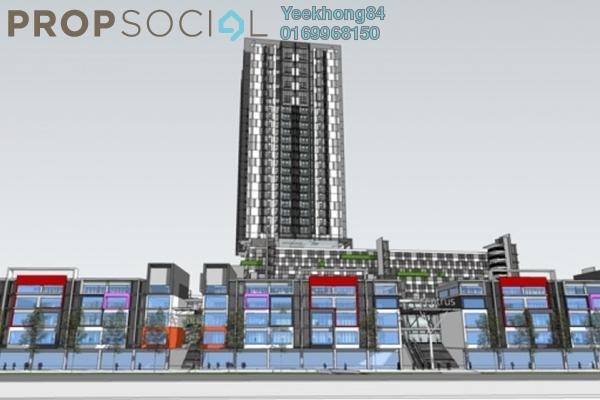 For Sale Condominium at Centrus SoHo 1, Cyberjaya Freehold Semi Furnished 1R/1B 300k
