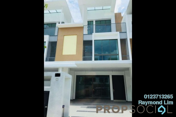 For Rent Terrace at Lake Point Residence, Cyberjaya Freehold Semi Furnished 5R/5B 3.5k