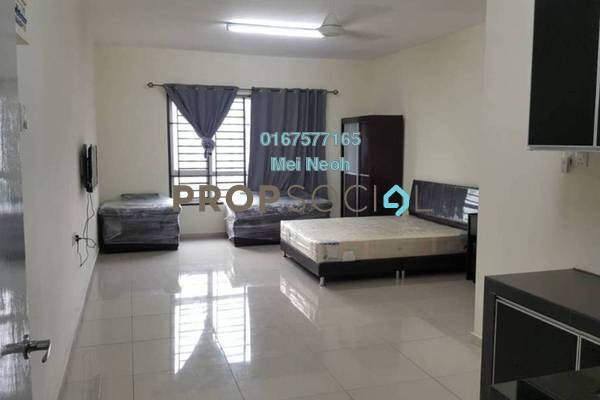For Rent Apartment at Zennith Suites, Johor Bahru Freehold Fully Furnished 0R/1B 1.25k
