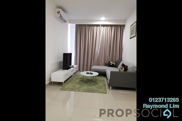 For Rent Condominium at Eclipse Residence @ Pan'gaea, Cyberjaya Freehold Fully Furnished 2R/2B 1.9k