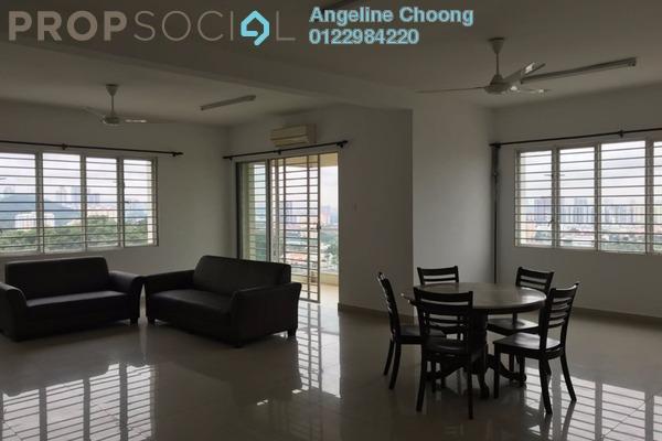 For Rent Condominium at Platinum Hill PV8, Setapak Freehold Semi Furnished 3R/3B 2.2k