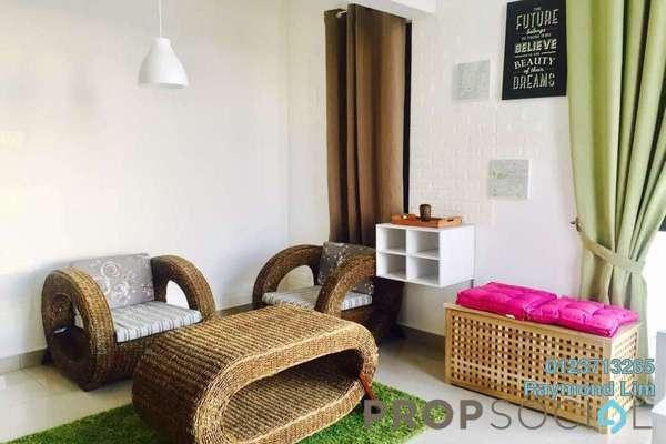 For Rent Condominium at Eclipse Residence @ Pan'gaea, Cyberjaya Freehold Fully Furnished 3R/2B 2.2k