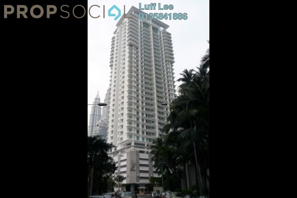 For Sale Condominium at Binjai Residency, KLCC Freehold Semi Furnished 5R/5B 1.95m