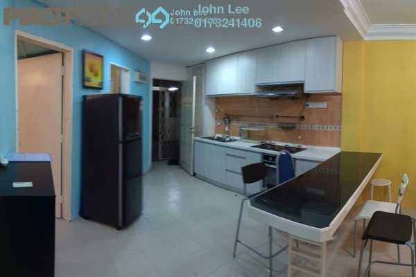 For Rent Apartment at Rampai Court, Setapak Freehold Fully Furnished 2R/1B 1.3k