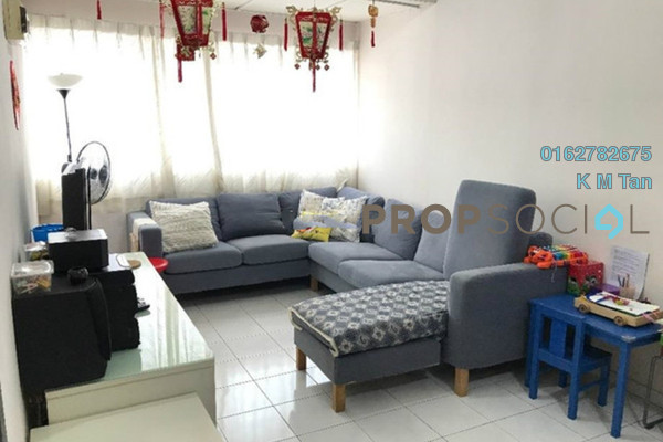 For Sale Townhouse at Pandan Indah, Pandan Indah Freehold Semi Furnished 3R/2B 400k