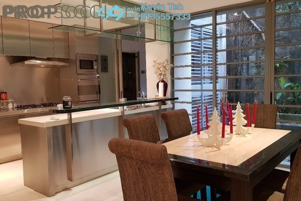 For Rent Terrace at Federal Hill, Bangsar Freehold Semi Furnished 3R/4B 4.5k
