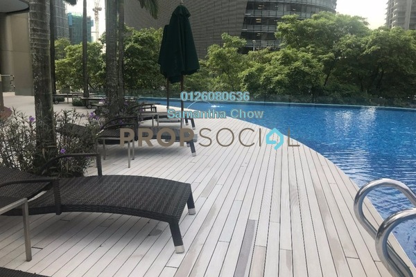 For Sale Condominium at The Oval, KLCC Freehold Semi Furnished 3R/3B 3.9m