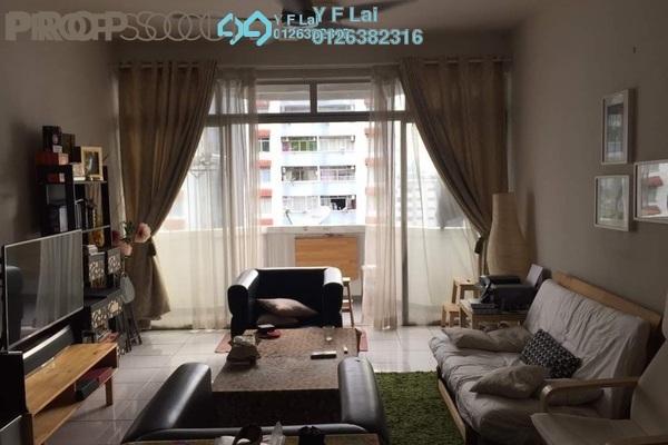 For Sale Condominium at Bukit OUG Condominium, Bukit Jalil Freehold Semi Furnished 3R/2B 390k