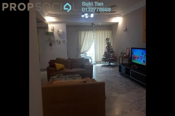 For Sale Terrace at Taman Mastiara, Jalan Ipoh Freehold Semi Furnished 4R/3B 838k