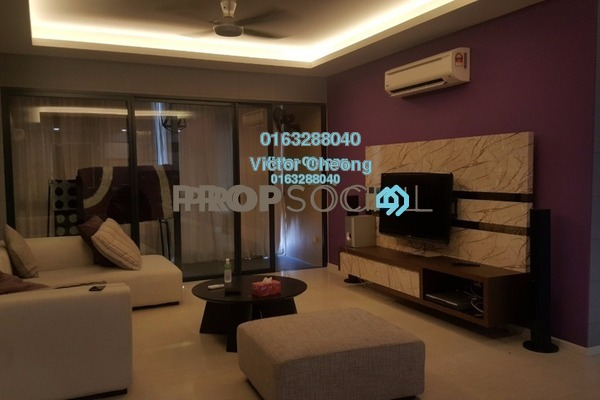 For Rent Condominium at Concerto Kiara, Dutamas Freehold Fully Furnished 3R/3B 4.7k