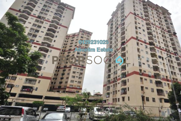 For Sale Apartment at Ampang Damai, Ampang Leasehold Fully Furnished 3R/2B 355k