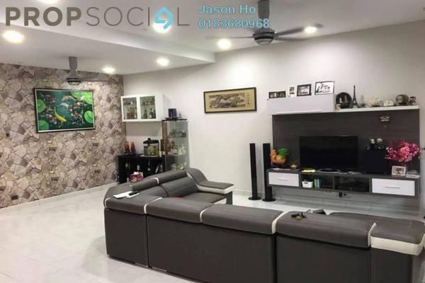 For Sale Terrace at Bandar Puteri Klang, Klang Freehold Semi Furnished 4R/4B 730k