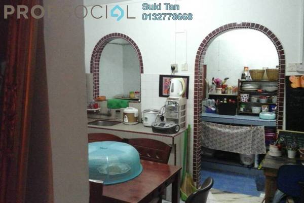 For Sale Terrace at Kepong Baru, Kepong Freehold Semi Furnished 2R/2B 340k