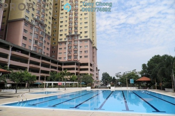 For Rent Condominium at Angkasa Condominiums, Cheras Freehold Fully Furnished 3R/2B 1.6k