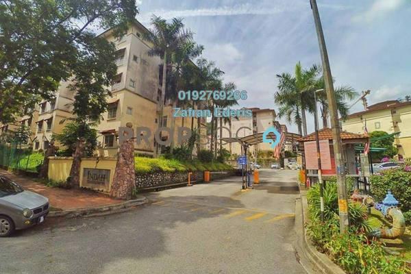 For Sale Condominium at Indah Condominium, Damansara Damai Freehold Semi Furnished 3R/2B 300k