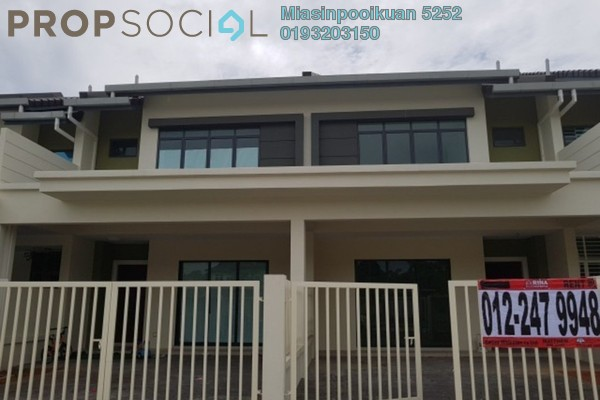 For Rent Terrace at Double Green Residence, Ipoh Freehold Unfurnished 4R/4B 1.8k