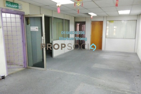 For Rent Office at Taman Kasturi, Cheras South Freehold Semi Furnished 0R/2B 1.25k