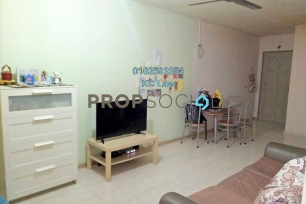 For Sale Condominium at Ketumbar Heights, Cheras Freehold Semi Furnished 3R/2B 295k