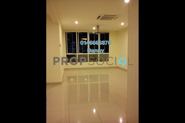 For Rent Condominium at The Loft @ ZetaPark, Setapak Freehold Semi Furnished 3R/3B 2.5k